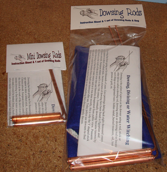 DOWSING RODS : C  Green - Makers of New Age, Metaphysical